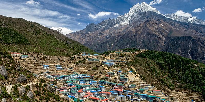 Namche Bazaar (3440m)