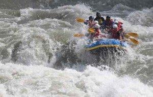 Rafting in Sukute, Bhotekoshi River
